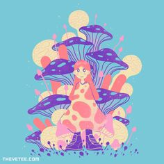 OOTD By Paperbeatsscissors, today at The Yetee!