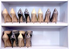 Shoe Stax--stores four pairs of shoes in the space of two! Get organized and then get shopping.