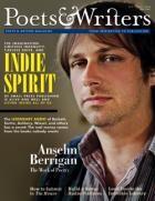 September/October 2009 | Poets & Writers Magazine, featuring poet Anselm Berrigan