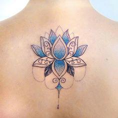 Trendy Tattoo Back Big Lotus Flowers 61 Ideas Baby Tattoos, Mini Tattoos, Trendy Tattoos, Flower Tattoos, Body Art Tattoos, Tattoos For Women, Tattoo P, Lotus Tattoo, Mandala Tattoo