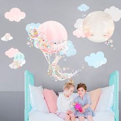 Rosenberry Rooms has everything imaginable for your child's room! Share the news and get $20 Off  your purchase! (*Minimum purchase required.) Dreamy Pink Balloons Wall Decal