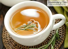 Health Benefits Of Rosemary Tea- Benefícios do chá de Alecrim para a saúde Health Benefits of Rosemary Tea – Recipe of the Day - Rosemary Tea, How To Dry Rosemary, Mental Health Benefits, Tea Benefits, Weight Loss Tea, Losing Weight, Fruit Parfait, Meat Seasoning, Vinegar
