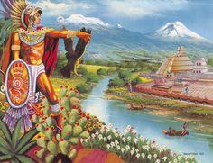 Tenochtitlan.   julio la malinche agosto tenochtitlan 1325 septiembre aguila que…