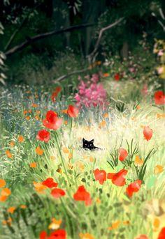 Illustrations, Illustration Art, Pascal Campion, Open Art, Artist Names, Art Plastique, Community Art, Cat Art, Lovers Art