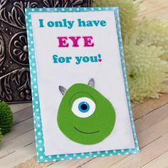 Mike Wazowski Valentine Card