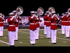 The U.S. Marine Drum and Bugle Corps at the 2015 DCI Finals - Drum Corps International :: Marching Music's Major League™