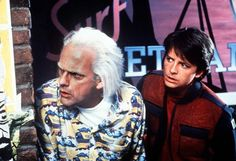 "Today marks the date Marty McFly and Doc Brown time-traveled to in ""Back to the Future Part II."""