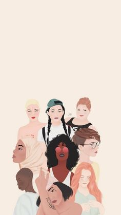 girl, woman, and feminism image Photo Oeil, Girl Empowerment, Woman Illustration, Feminist Art, Aesthetic Art, Cute Wallpapers, Girl Power, Photos, Backgrounds
