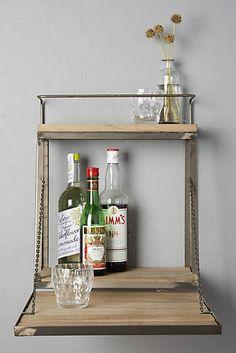 Fold-Down Bar Shelf.  $168 on Anthropologie.