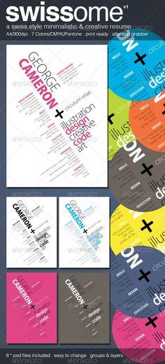 Creative Graphic Designer Resume Portfolio Resumes Pinterest - campground manager sample resume