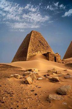 ❝ #FOTO - Meroe ciudad antigua en la orilla este del Nilo ❞ ↪ Vía: Entretenimiento y Noticias de Tecnología en proZesa