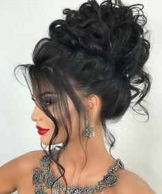 44 Easy Formal Hairstyles For Long Hair - Hair ispiration - Frisuren Formal Hairstyles For Long Hair, Up Hairstyles, Pretty Hairstyles, Wedding Hairstyles, Hairstyle Hacks, Fashion Hairstyles, Elegant Wedding Hair, Hair Wedding, Hair Looks