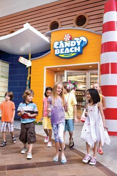 Go for a walk on the Boardwalk and stop by Candy Beach! #cruising #travel www.tripquesttravel.com