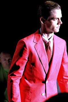 Gucci's pink suit