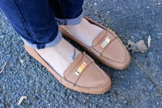 Coach loafers | http://simpleandinspired.com