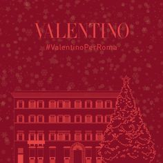 As a sign of its love for and connection to #Rome, Valentino will gift the Italian capital with a Christmas tree, presented with a special lighting ceremony this Thursday, December 1st, at 5.30 p.m. in Piazza Mignanelli, Rome. Friends and the citizens of the city of Rome are invited to gather together for this magical event accompanied with joyful Christmas carols. #ValentinoPerRoma
