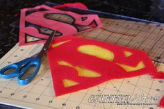 Glimmer And Grit: DIY Clark Kent/Superman Kids Costume