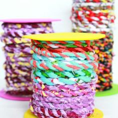 Learn How To Make Your Own Fabric Twine