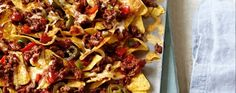 This has a touch of spice but isn't too hot, making it perfect for all the family. Offer extra jalapenos or chopped fresh chillies for those who like their food with bite. Find a recipe for spicy beef nachos and more at www.asda.com/recipes.