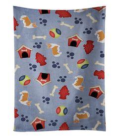 Dog House Collection Pembroke Corgi Kitchen Towel BB4109KTWL