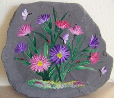 Stepping Stone - Asters