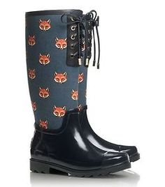 Tory Burch Fox Rain boot