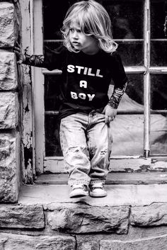 Yes! A boy with long hair is #stillaboy. Always. #dresslikeaboy