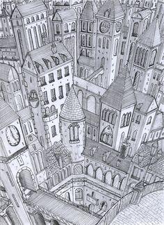 eternal city by lordoffog.deviantart.com on @DeviantArt