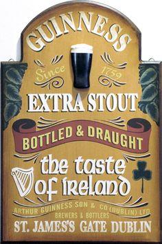 Guinness-the taste of Ireland!