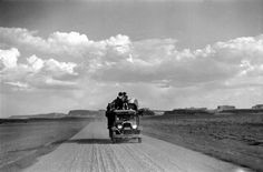 size: Photographic Print: Disposed Family Traveling West by Peter Stackpole : Artists The Great Escape, Road Trippin, Digital Technology, Professional Photographer, Family Travel, Find Art, Framed Artwork, Poster, Traveling