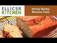 Honey Barley Banana Bread