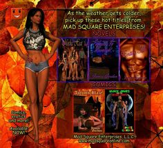 AVAILABLE NOW! Use the link below to get your Mad Square titles! http://www.amazon.com/James-Gordon/e/B00G47G43A