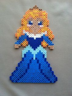 Perler Bead Disney Princess Sleeping Beauty by TwinDeerDesigns