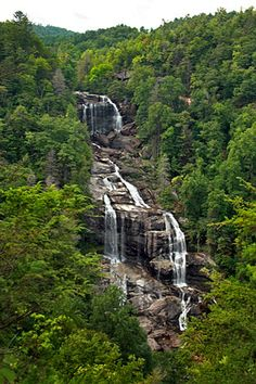 what to see in north carolina | North Carolina waterfalls | Places to visit someday