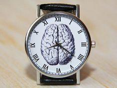 Wristwatches brains watch brain vintage Style retro Watch anatomy Watch w Retro Watches, Cool Watches, Women's Watches, Unique Watches, Fashion Watches, Popular Watches, Cheap Watches, Modern Watches, Elegant Watches
