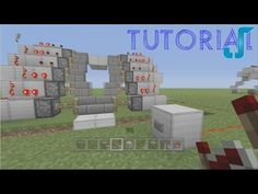 In this tutorial I show you how to build a fancy Minecraft zipper piston that will make your building as awesome. Minecraft Create, Minecraft Building Blueprints, Minecraft Banners, Minecraft Plans, Amazing Minecraft, Minecraft Survival, Minecraft Projects, Minecraft Houses, Minecraft Interior Design
