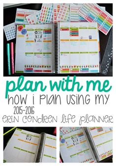 Plan With Me! How I