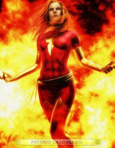 Rise of the Phoenix by PGandara on DeviantArt Jean Grey Phoenix, Dark Phoenix, Rachel Summers, Phoenix Marvel, Grey Pictures, Female Superhero, Phoenix Rising, Female Hero, Batgirl