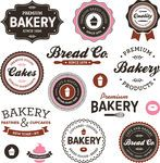 Vector of Vintage bakery labels - Set of vintage retro bakery badges... csp8574658 - Search Clip Art, Illustration, Drawings and Clipart EPS Vector Graphics Images