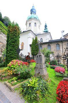 St Peters Abbey & Graveyard ~ Salzburg, Austria