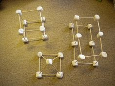 Adventures of First Grade: Marshmallows and Toothpicks = 3D Shapes