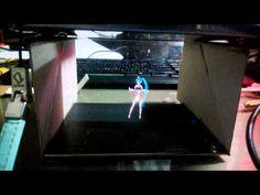 (2) DIY miku hologram Illusion with ps vita - YouTube
