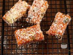 Batoane de morcovi caramelizati. Imagini pas cu pas pentru batoane de morcovi caramelizati
