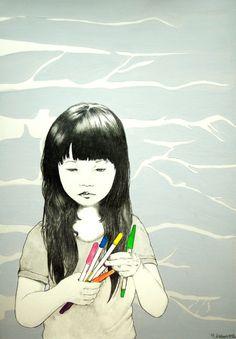 Yoshinori Kobayashi asian art child Japan?