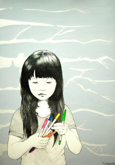 Yoshinori Kobayashi asian art child Japan?