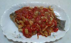 Gurame Asam Manis (carp tomato souce)