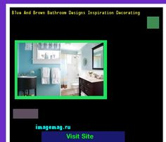 Blue And Brown Bathroom Designs Inspiration Decorating 204907 - The Best Image Search