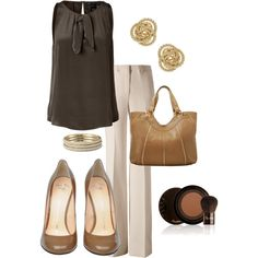 Chocolate Gold, created by alttra on Polyvore