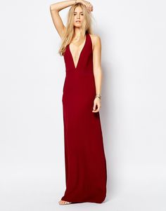 Flynn Skye Chloe Maxi Dress in Merlot