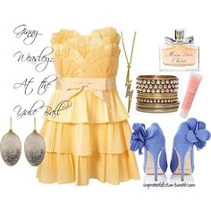 Ginny Weasley: At the Yule Ball, created by janetsnakehole on Polyvore